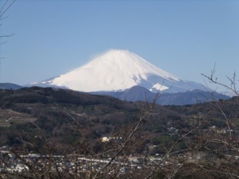 二宮・吾妻山公園から眺める富士山(2)