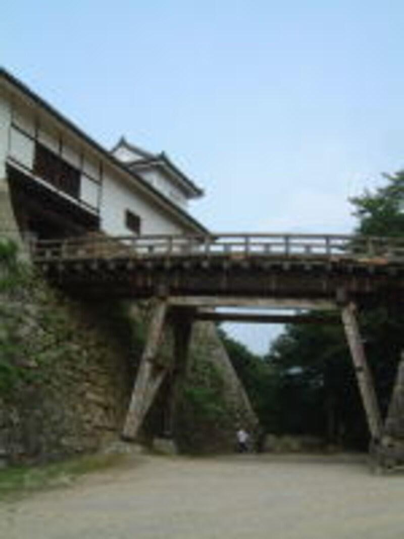 彦根城/廊下橋と天秤櫓