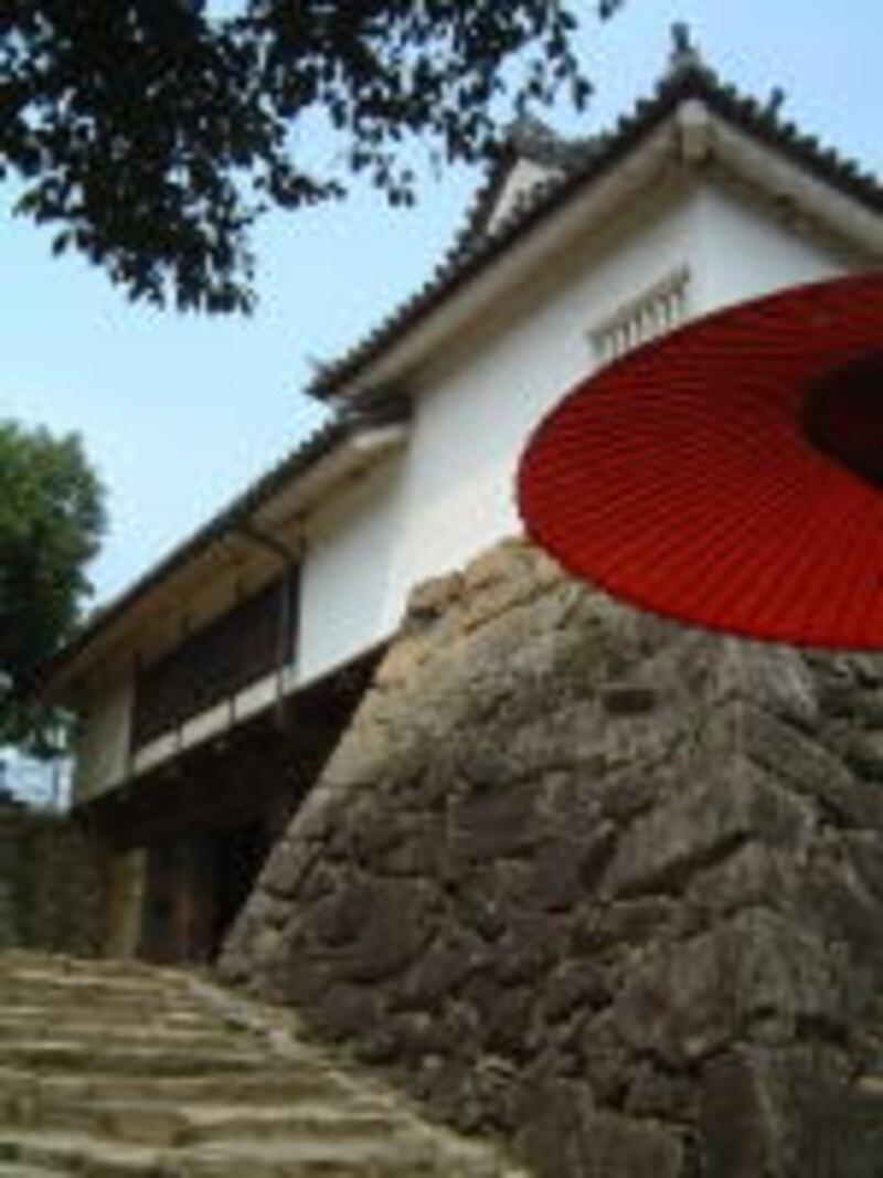 彦根城/太鼓門櫓への石段