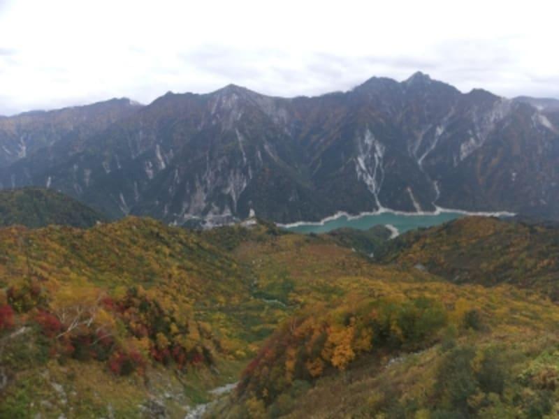 大観峰から眺める紅葉(1)