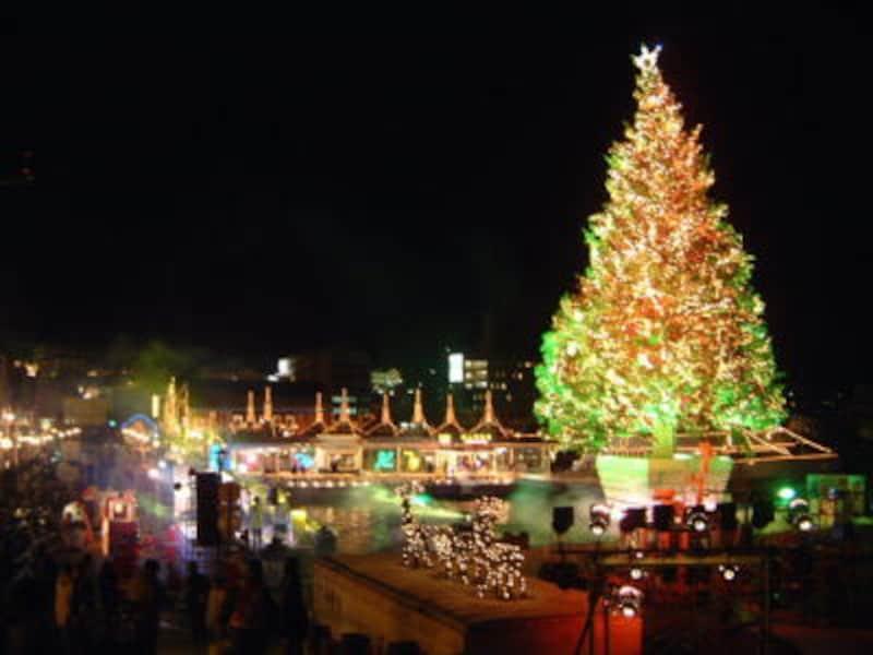 はこだてクリスマスファンタジーのクリスマスツリー(2)