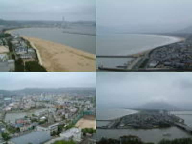 唐津城からの眺め