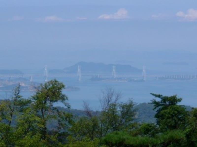 岩黒島橋、櫃石島橋/休暇村讃岐五色台より