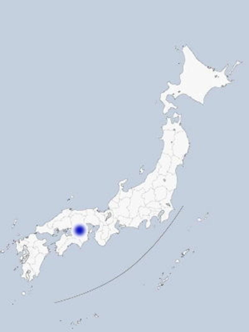 瀬戸大橋の地図