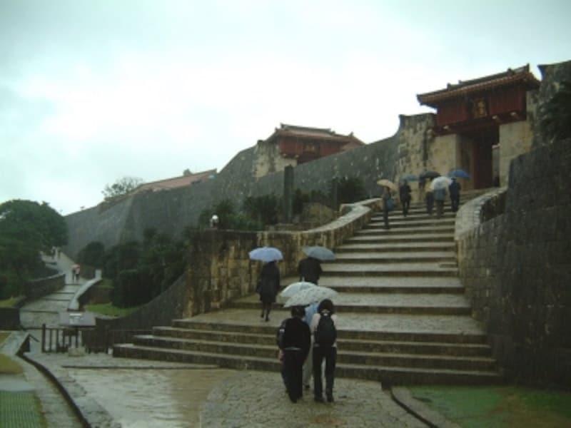 首里城(4)/瑞泉門から漏刻門へ