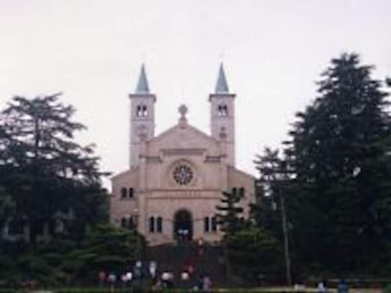 初代の山口サビエル記念聖堂