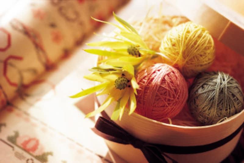手編み・指編みで、アクリルたわしが毛糸から簡単に作れちゃう!