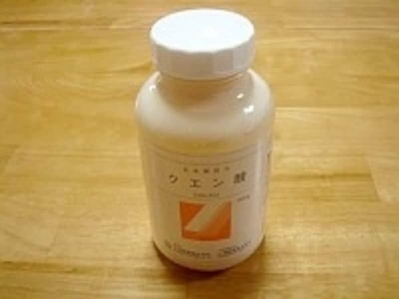 クエン酸は、最近では100均でも購入可能