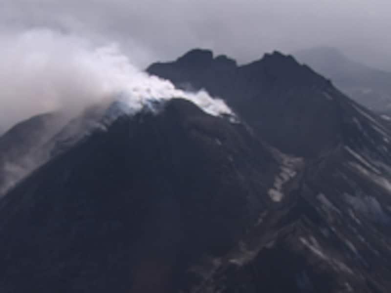 カムチャッカ半島火山
