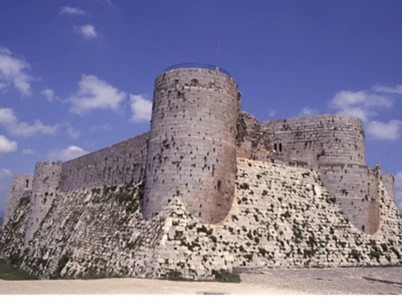 クラック・デ・シュバリエの城壁