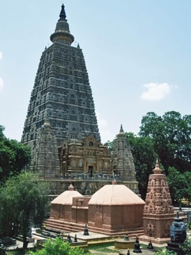 ブッダガヤのマハーボディ(大菩提寺)