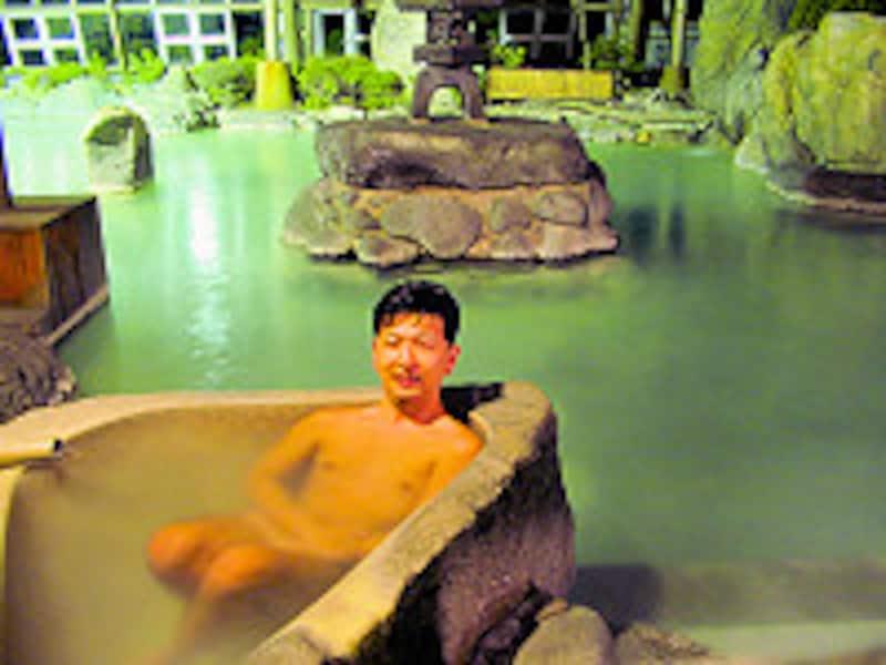霧島いわさきホテル御山の湯