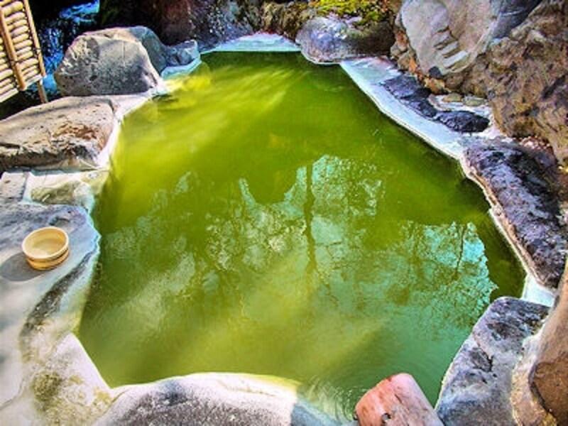 熊の湯ホテルの露天風呂