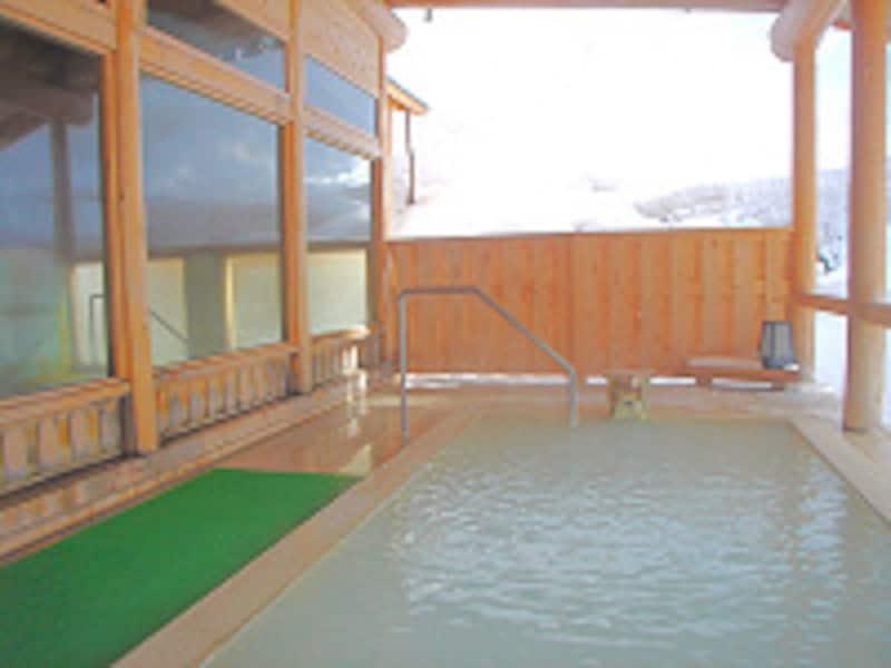 湯元齋藤旅館雪見露天風呂