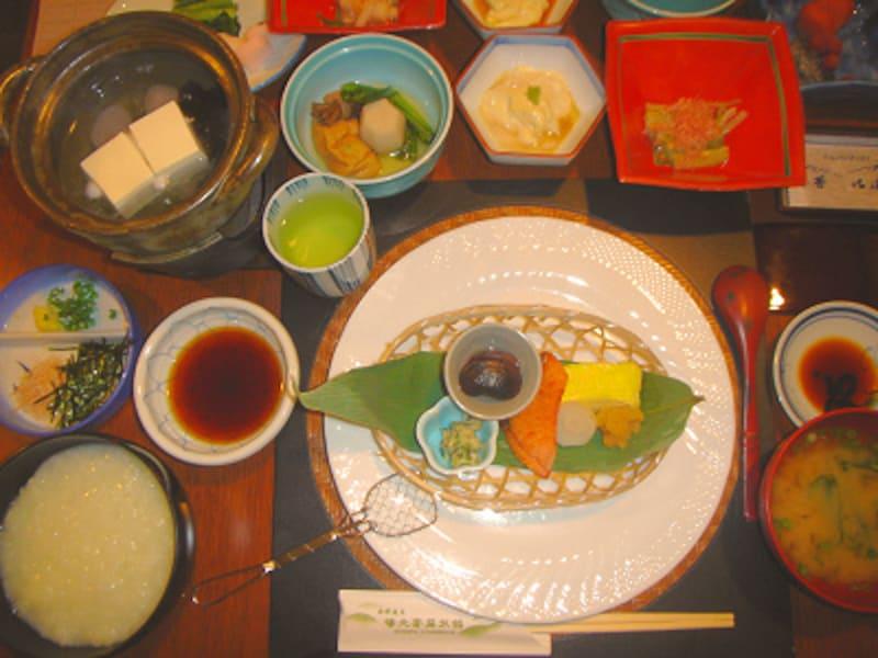 湯元齋藤旅館朝食