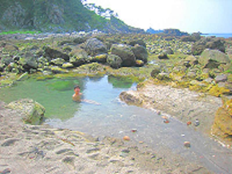 石白川海中温泉