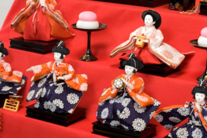 美しいおひな様は、代表的な日本文化として海外で紹介されることも多いのです。
