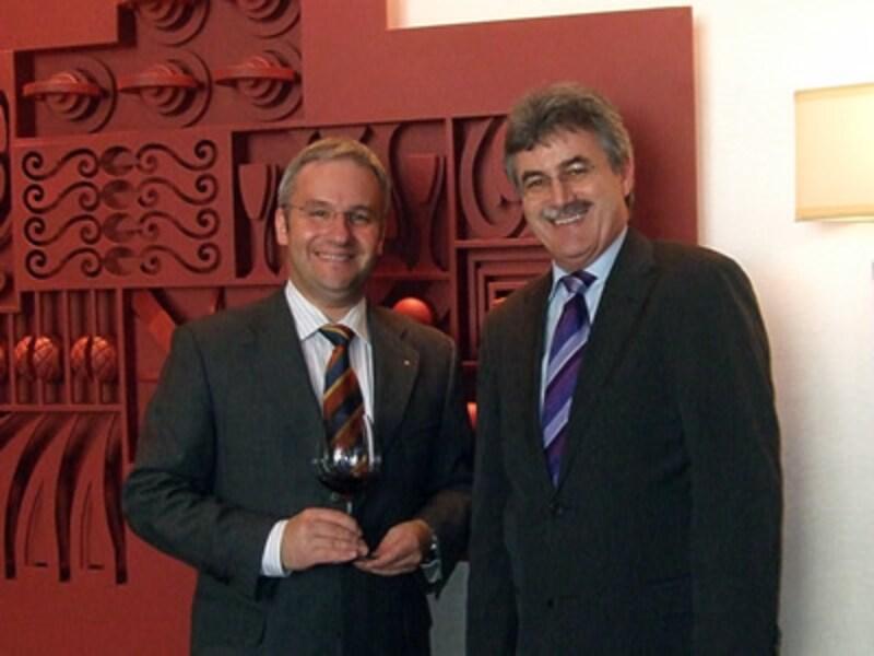 マルクス・デル・モネゴ氏とオットー・ベンツ氏
