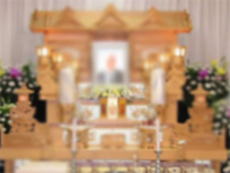 見ただけでは違いがわからない祭壇。