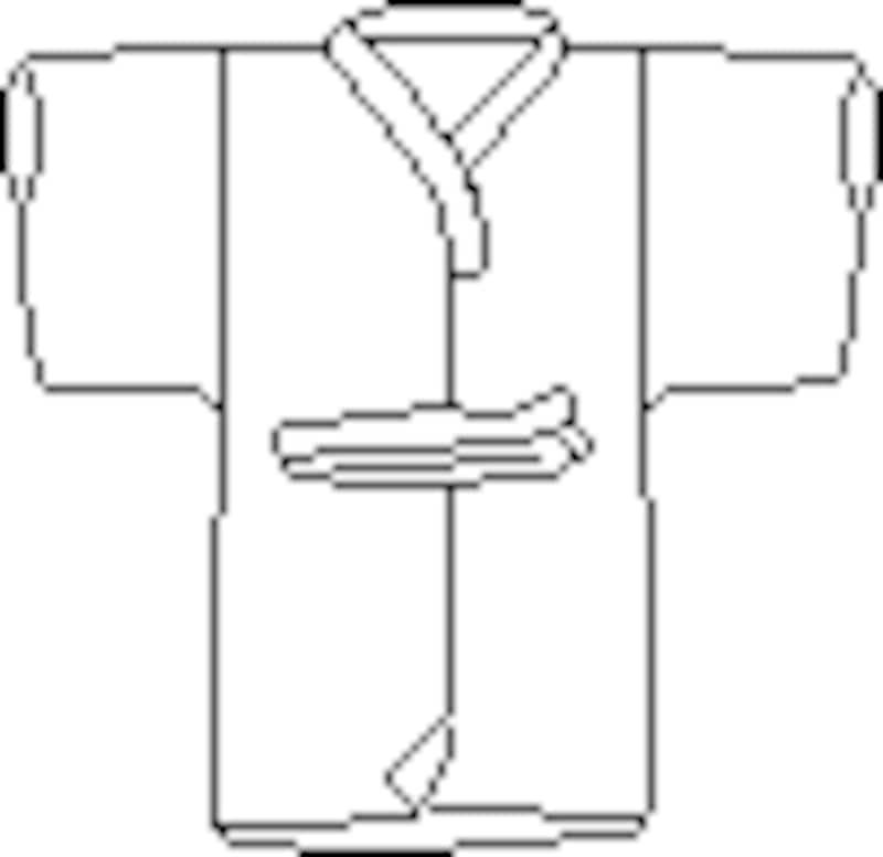 死装束は葬儀社が準備をしてくれます。故人が愛用していた服を着せる(掛ける)場合には、燃えにくい靴を一緒に納棺することはできませんのでご注意を。