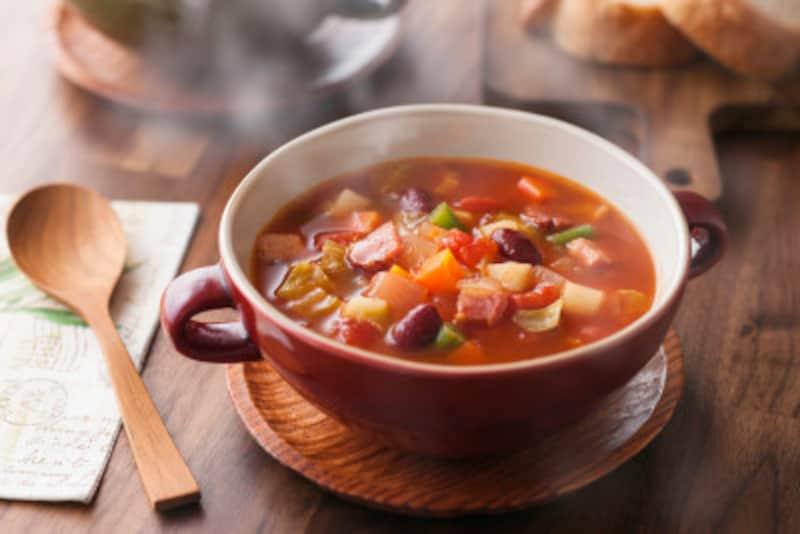 トマトジュースや市販のスープを活用!