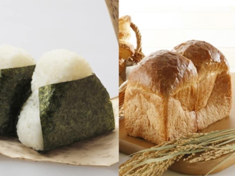 パンとご飯、どちらが太りやすいのか?