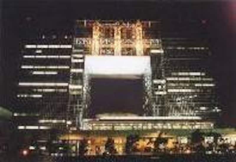 テレポートセンターは夜景の穴場