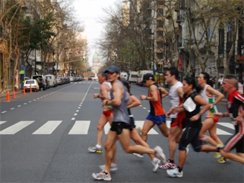 ブエノスアイレスでマラソン大会に出場なんて、ちょっとした自慢になりそうだ。