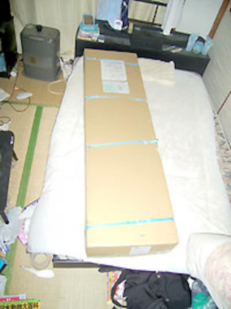 初公開・星野のベッド。汚ねー