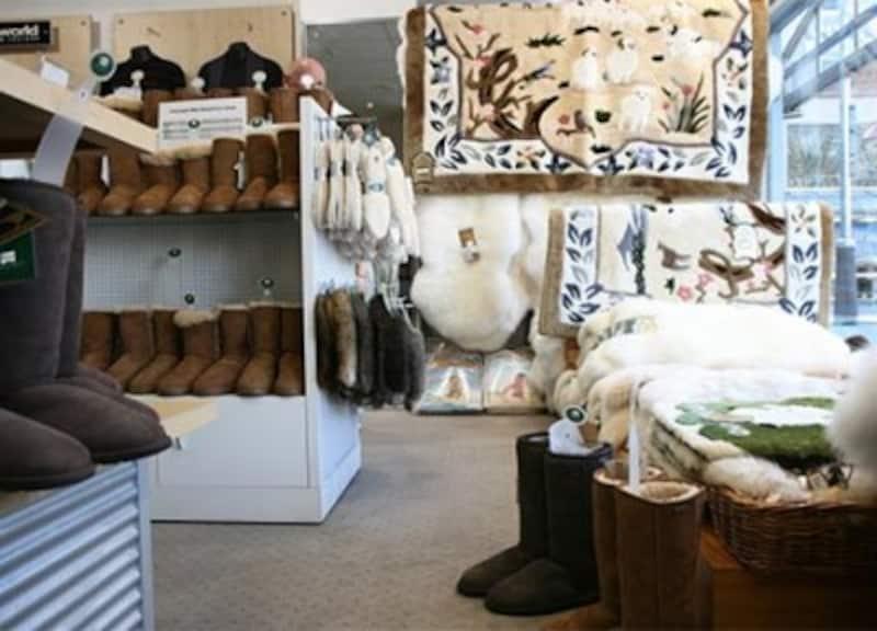 肌ざわりが気持ちいい羊毛製品は種類も充実