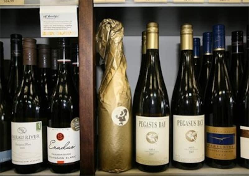 お気に入りの一本を見つけて帰りたい、ニュージーランド産ワイン