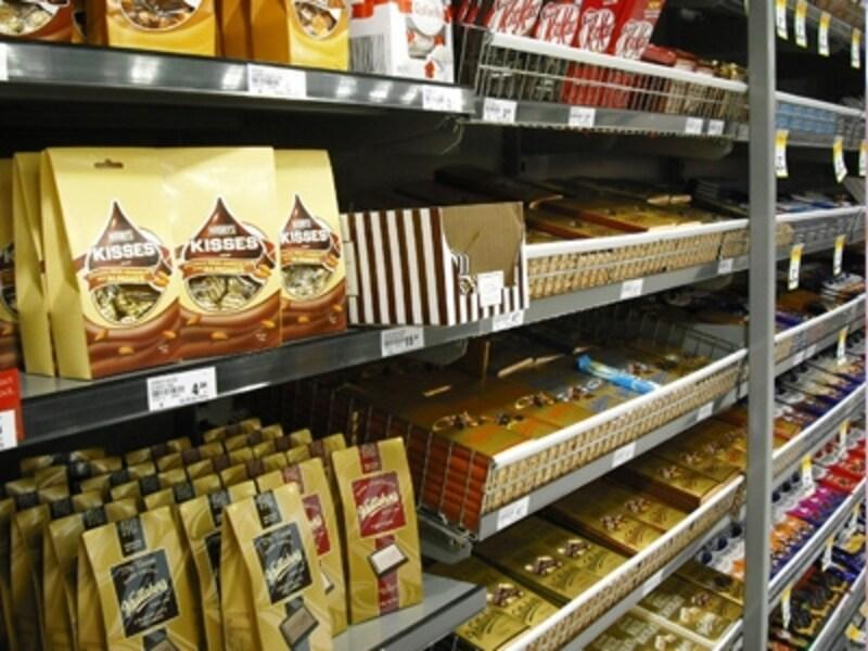 お手頃なお土産にはスーパーマーケットが便利