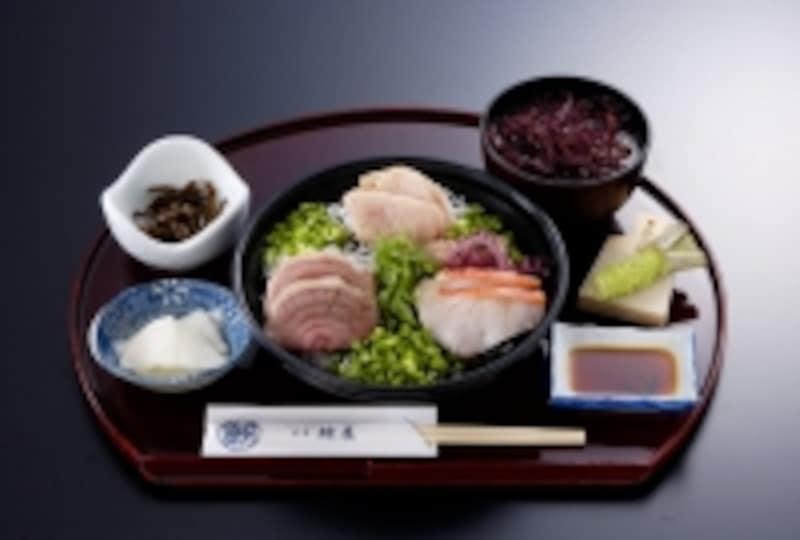 特選とろ炙り三昧丼定食(2,300円)