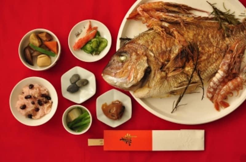 お食い初めの儀式はこの4品を準備して