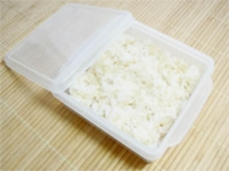 ご飯の冷凍保存