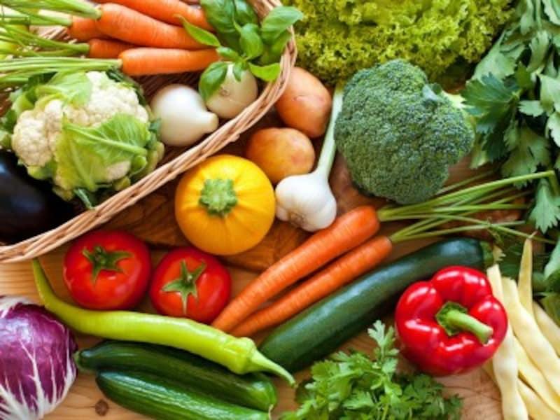 葉野菜、青菜の冷凍や根菜類の冷凍など