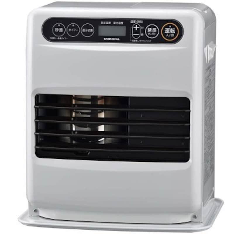 部屋全体を温める暖房器具:石油ファンヒーター