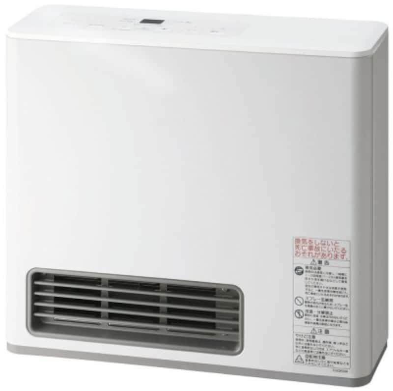 部屋全体を温める暖房器具:ガスファンヒーター