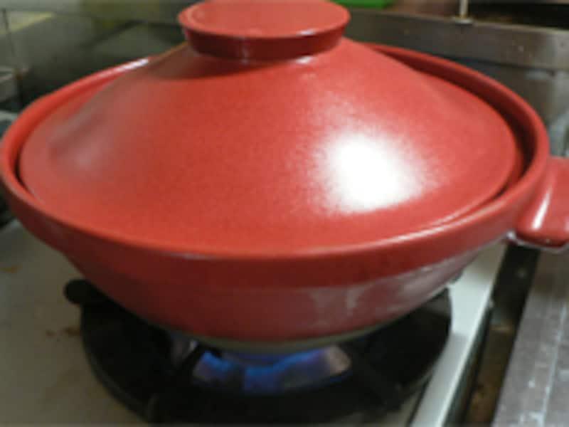 土鍋の空焚き