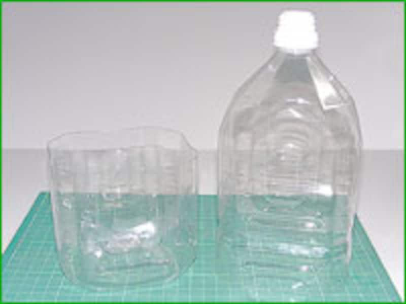 ペットボトルをリサイクル