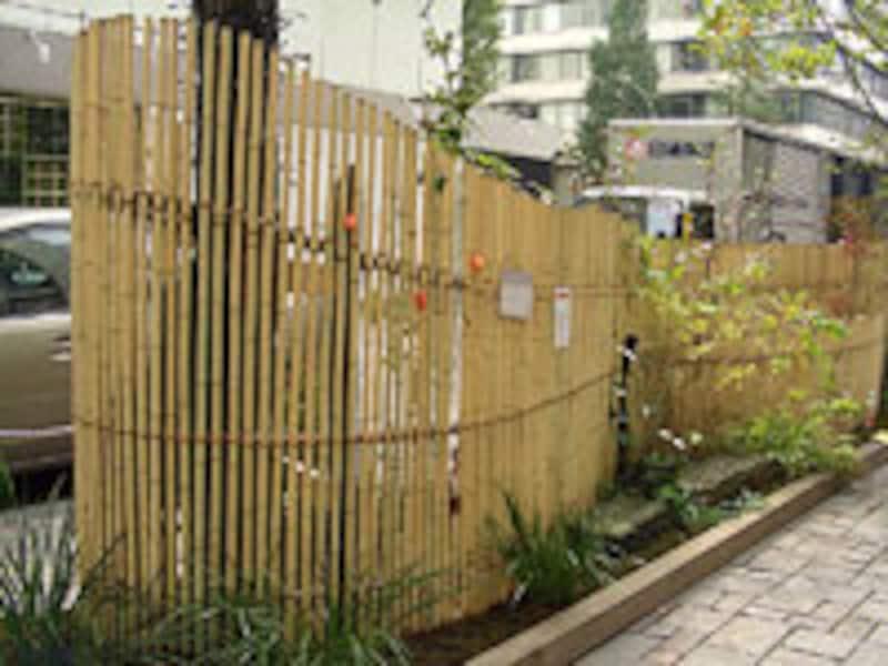 竹のポケット