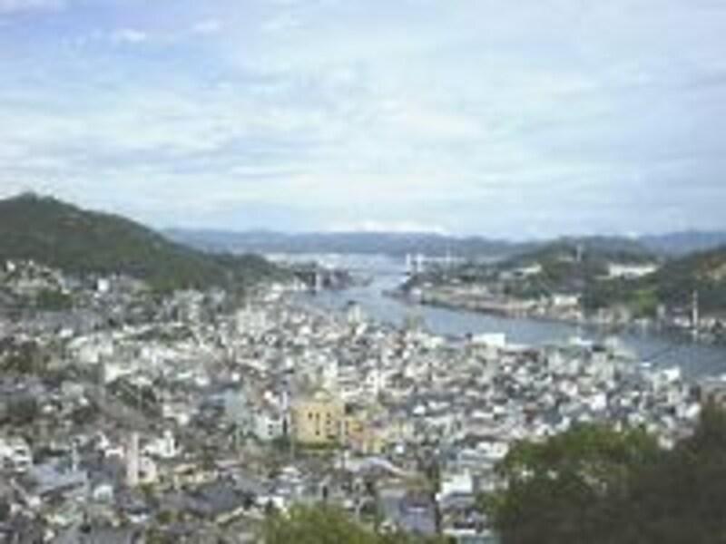 《尾道》千光寺山から眺める尾道水道