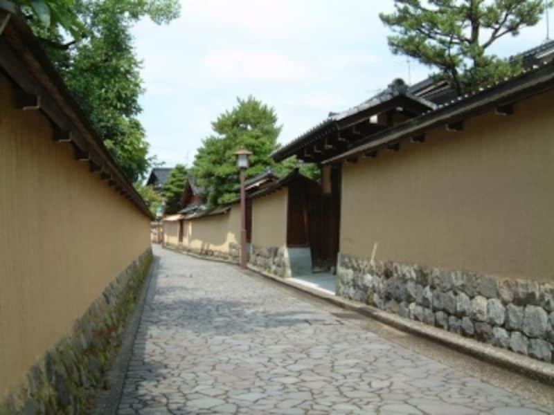 《金沢》長町武家屋敷跡