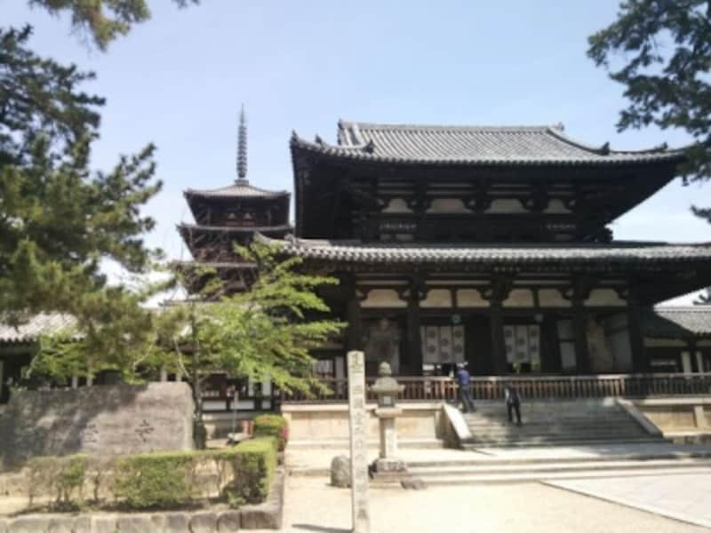 【奈良】法隆寺