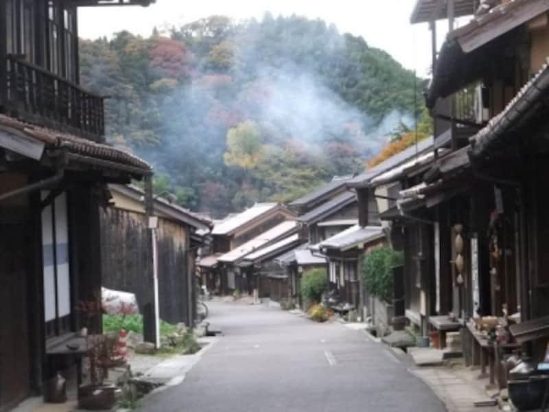 【島根】石見銀山・大森地区の町並み