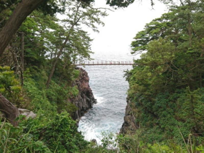 静岡/城ヶ崎海岸・門脇吊橋