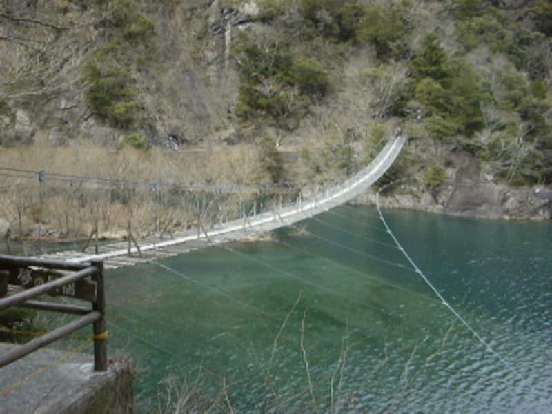 静岡/寸又峡・夢の吊り橋