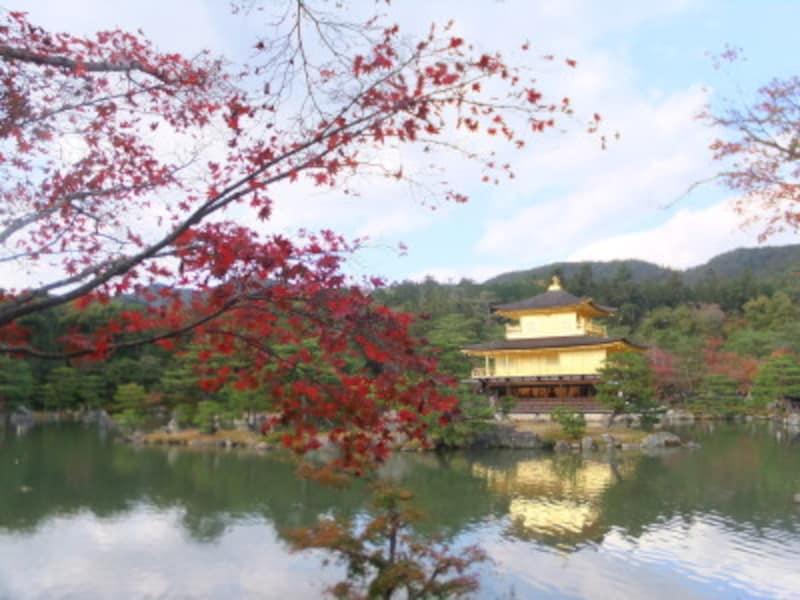 京都・鹿苑寺(金閣寺)