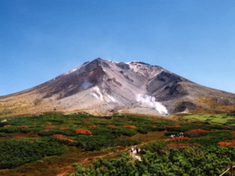 大雪山・旭岳の紅葉