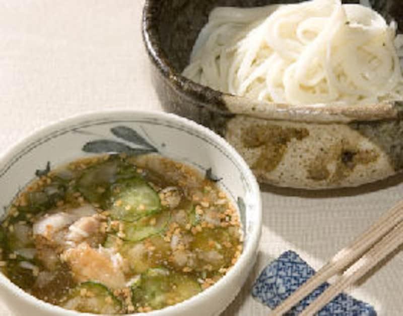 冷や汁うどん(和食作りのコツ・レシピ)